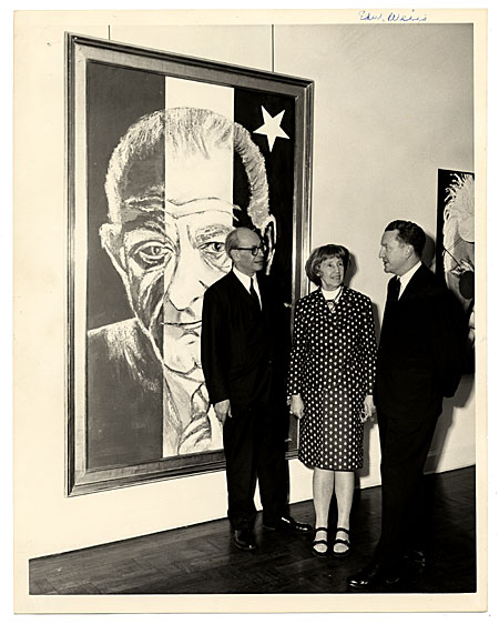 [Edward H. Weiss, Martha Jackson and Julian Goodman]