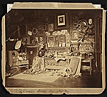 W.M. [William Merritt] Chase's studio, West 10th St. N.Y.