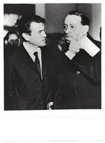 Gyula Kosice and Andre Malraux