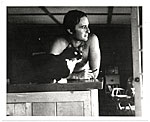 [Sidney Goodman with his cat ]