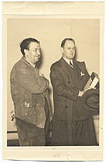 Diego Rivera and Robert Tannahill