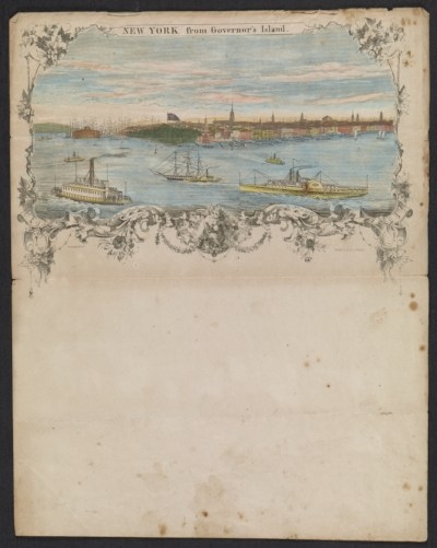 [New York from Governor's Island]