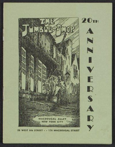The Jumble Shop: 20th anniversary