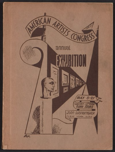 [American Artists Congress 2nd Annual Exhibition]