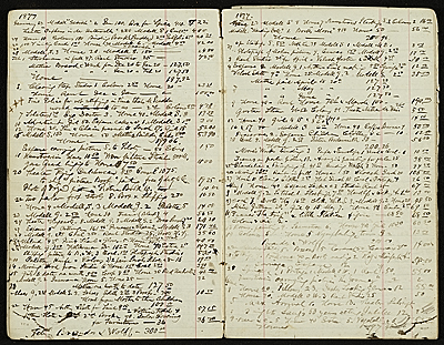 [Henry Mosler account book]
