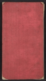 [Henry Mosler Civil War diary cover ]
