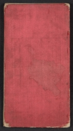[Henry Mosler Civil War diary cover back ]