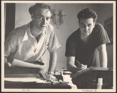 Nickolas Muray and Miguel Covarrubias