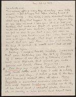 [Frida Kahlo, Paris, France letter to Nickolas Muray, New York, N.Y. page 1]