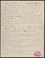 [Frida Kahlo, Paris, France letter to Nickolas Muray, New York, N.Y. page 14]