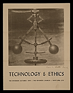 Automatic Control by Walter Tandy Murch. On cover of Technology and Ethics lecture series brochure