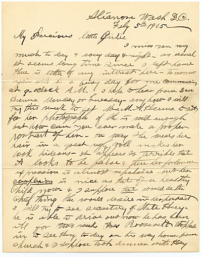William Daniel Murphy letter to Harriet Anderson Stubbs Murphy