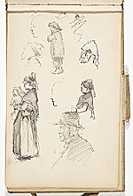 [Hermann Dudley Murphy sketchbook of travels through Europe sketchbook page 2]