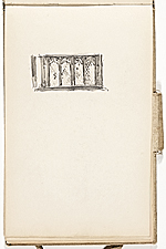 [Hermann Dudley Murphy sketchbook of travels through Europe sketchbook page 4]