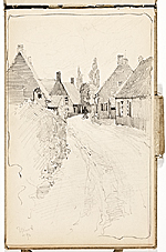 [Hermann Dudley Murphy sketchbook of travels through Europe sketchbook page 7]