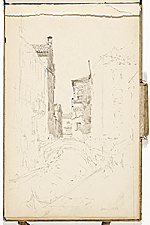 [Hermann Dudley Murphy sketchbook of travels through Europe sketchbook page 8]