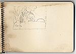 [Hermann Dudley Murphy sketchbook of travels through Venice, Italy sketchbook page 13]