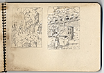 [Hermann Dudley Murphy sketchbook of travels through Venice, Italy sketchbook page 14]
