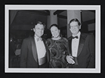 Gerald Adelmann, Constance Mortel, and Richard Murray at the John Warner Norton Benefit