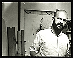 [Jim Dine in his studio]