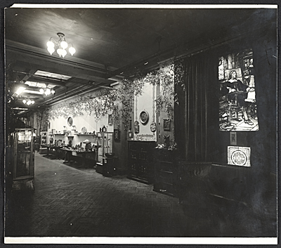 [Installation view of the Eighth annual arts and crafts exhibition at the National Arts Club]