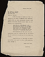 National Arts Club (New York, N.Y.) letter to Harry Franklin Waltmann, New York, N.Y.