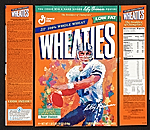 [Wheaties cereal box cover with Roger Staubach]