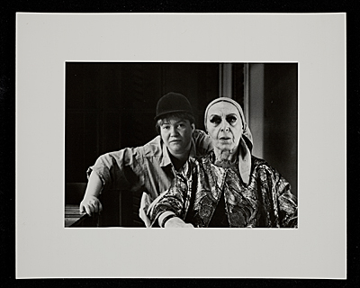 Louise Nevelson and Diana Mackown