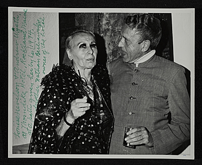 Louise Nevelson and Andrew Wyeth