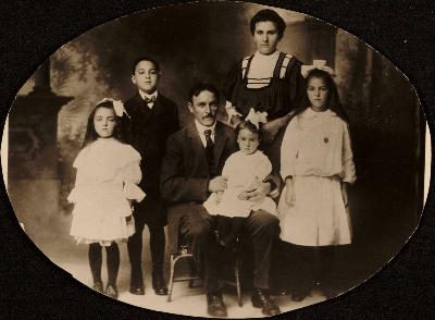 Berliawsky family portrait