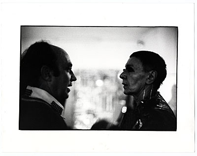 Arnaldo Pomodoro and Louise Nevelson