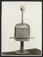 Clown tight rope walker by Louise Nevelson