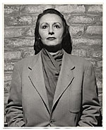 Portrait of Louise Nevelson