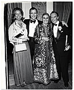 Louise Nevelson and others at formal gathering