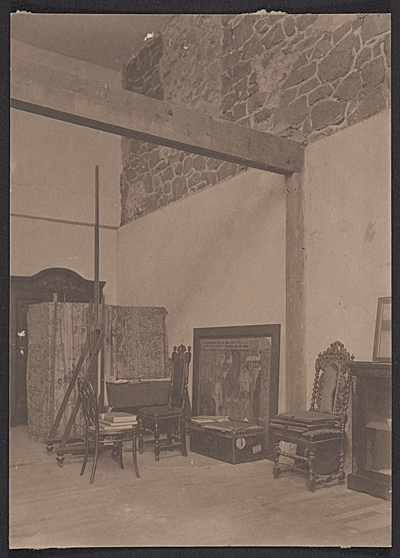 [Violet Oakley's studio at the Red Rose Inn]