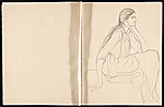 [Violet Oakley's sketchbook 13]