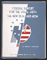 Federal support for the visual arts: The new deal and now