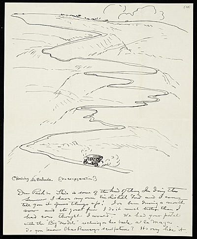John French Sloan letter to Walter Pach