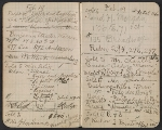 [Walter Pach notebook recording sales at the New York Armory Show pages 2]