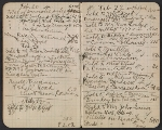 [Walter Pach notebook recording sales at the New York Armory Show pages 3]