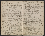 [Walter Pach notebook recording sales at the New York Armory Show pages 6]