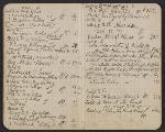 [Walter Pach notebook recording sales at the New York Armory Show pages 7]