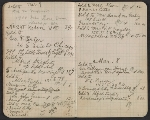 [Walter Pach notebook recording sales at the New York Armory Show pages 8]