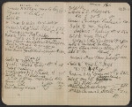 [Walter Pach notebook recording sales at the New York Armory Show pages 10]
