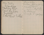 [Walter Pach notebook recording sales at the New York Armory Show pages 12]
