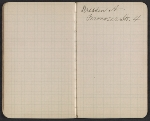 [Walter Pach notebook recording sales at the New York Armory Show pages 13]