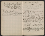 [Walter Pach notebook recording sales at the New York Armory Show pages 14]