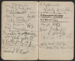 [Walter Pach notebook recording sales at the New York Armory Show pages 16]