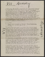 [Walter Pach notes for lecture on the Armory Show verso 3]