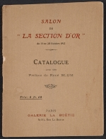Exhibit catalog for Salon de